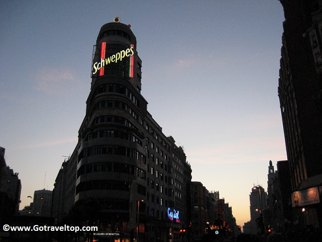 Plaza de Callao de Madrid