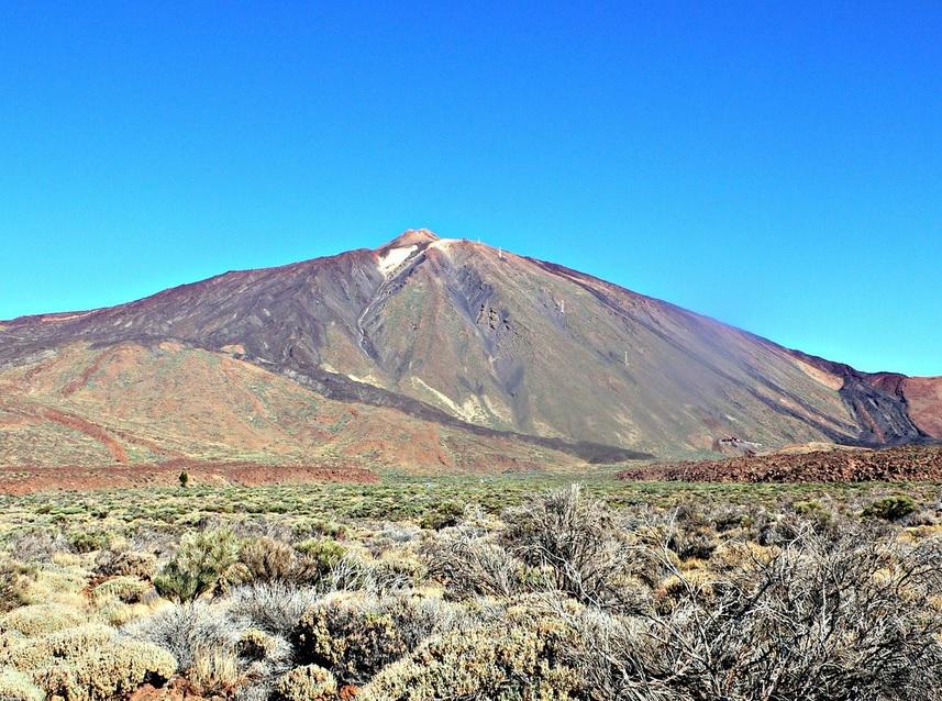 Monte Teide situado enTenerife