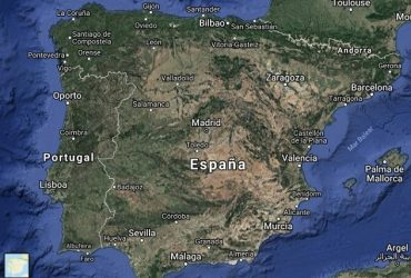 Mapa Satelital De España.Go Travel Top